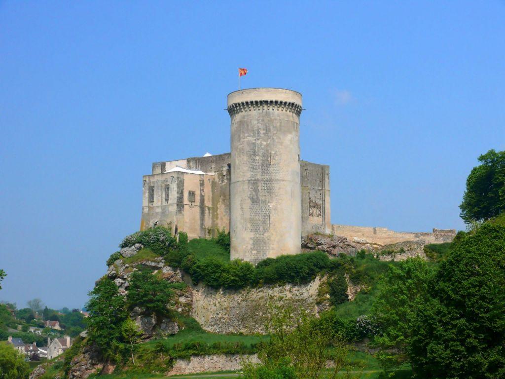 Eine sagenumwobene Ruine: Château Gaillard