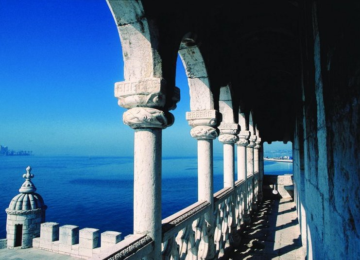 Einzigartiger Blick vom Torre de Belém