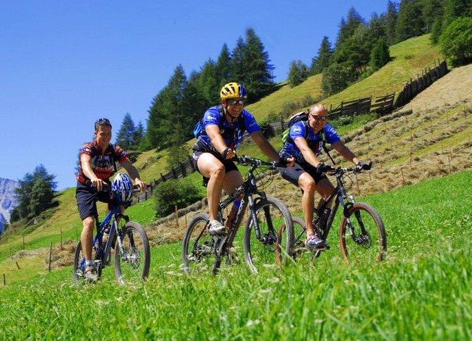 Mountainbike Tour Klassenfahrt