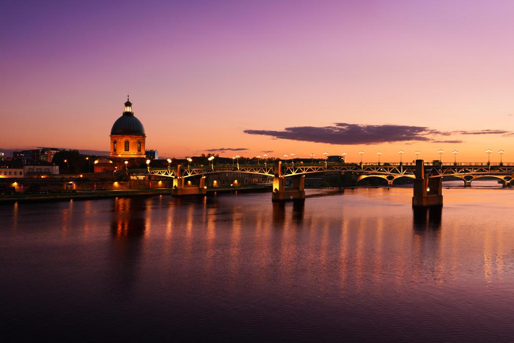 Der Canal du midi bei Sonnenuntergang ist ein echtes Reisehighlight!