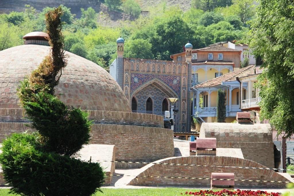 Die schöne Altstadt Tiflis