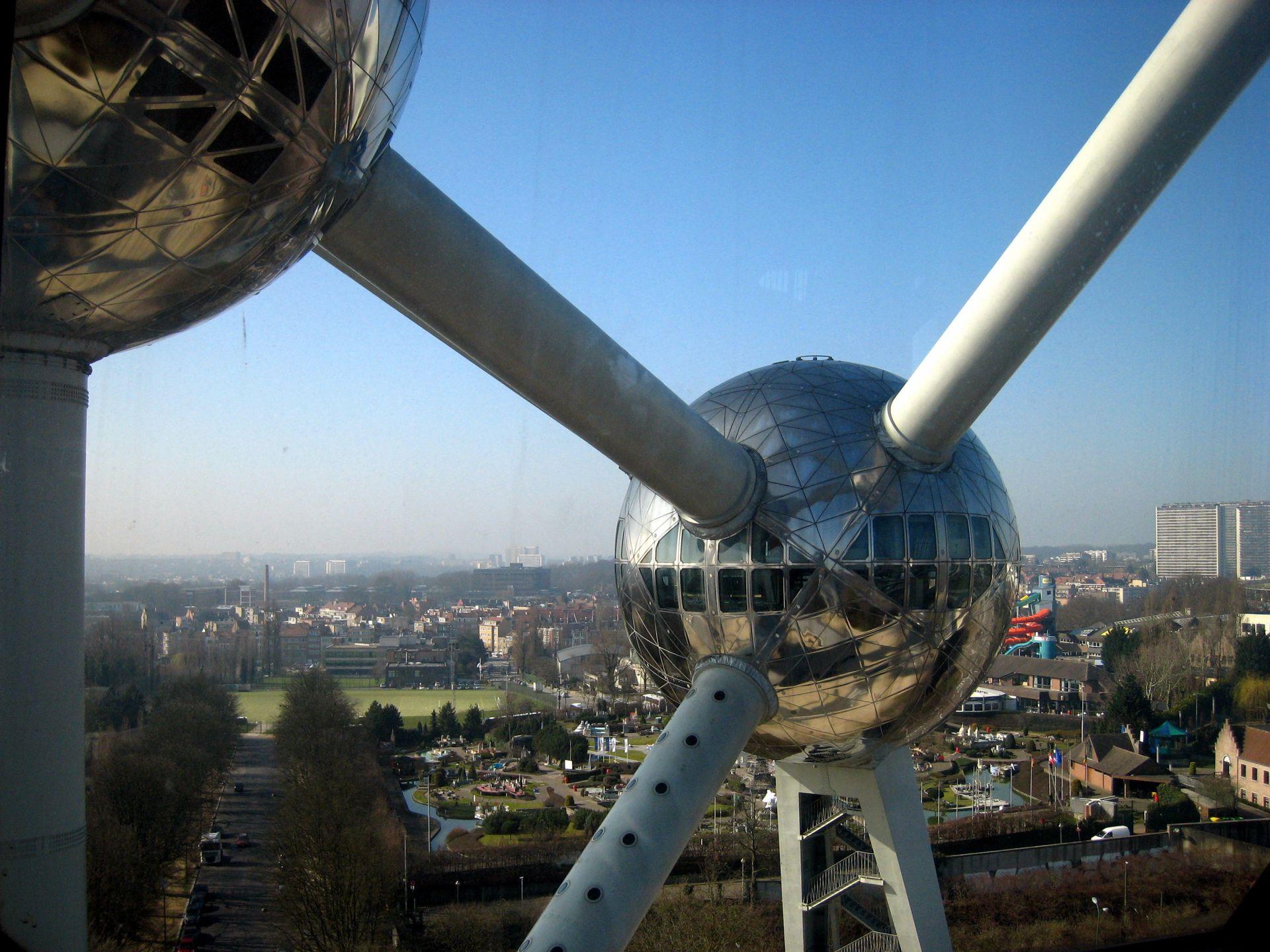 Klassenfahrt Brüssel Atomium