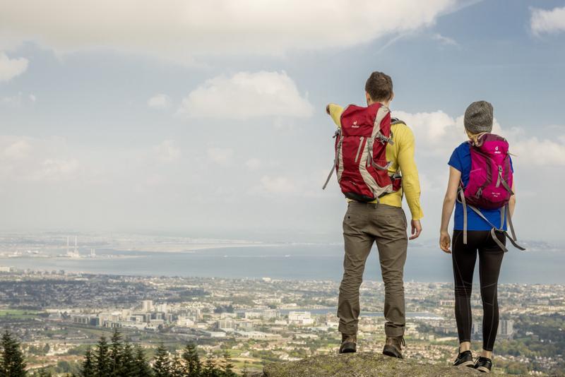 Der Ausblick am Ende einer Wanderung belohnt jeden Wanderer für seine Anstrengungen
