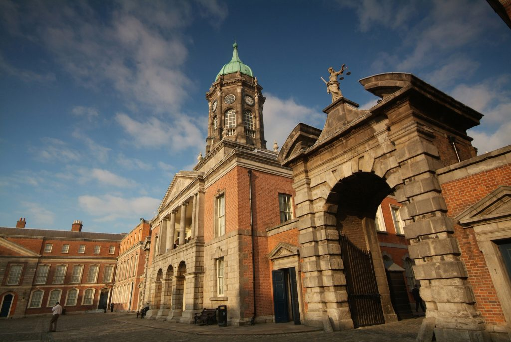 Außenansicht der Castle in Dublin