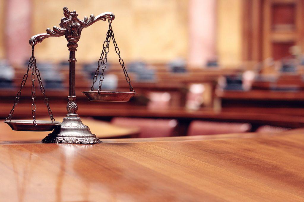 Blick auf eine Richterwaage