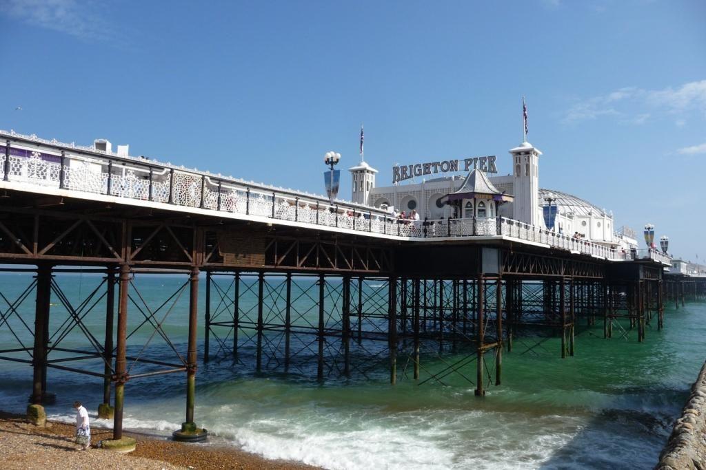 Blick auf den Pier in Brighton
