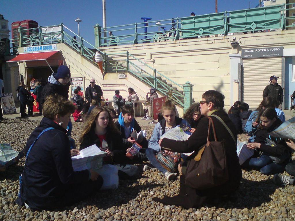 Auf Klassenfahrt in Brighton