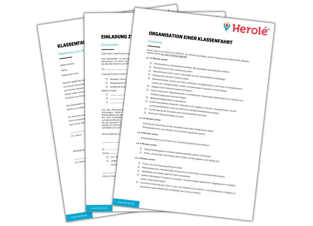 Nutzen Sie unsere kostenlosen Checklisten für die optimale Vorbereitung Ihrer Klassenfahrt.