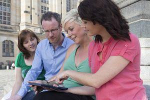 Reiseführer-Apps sind besonders praktisch, um schnell Informationen abrufen zu können.