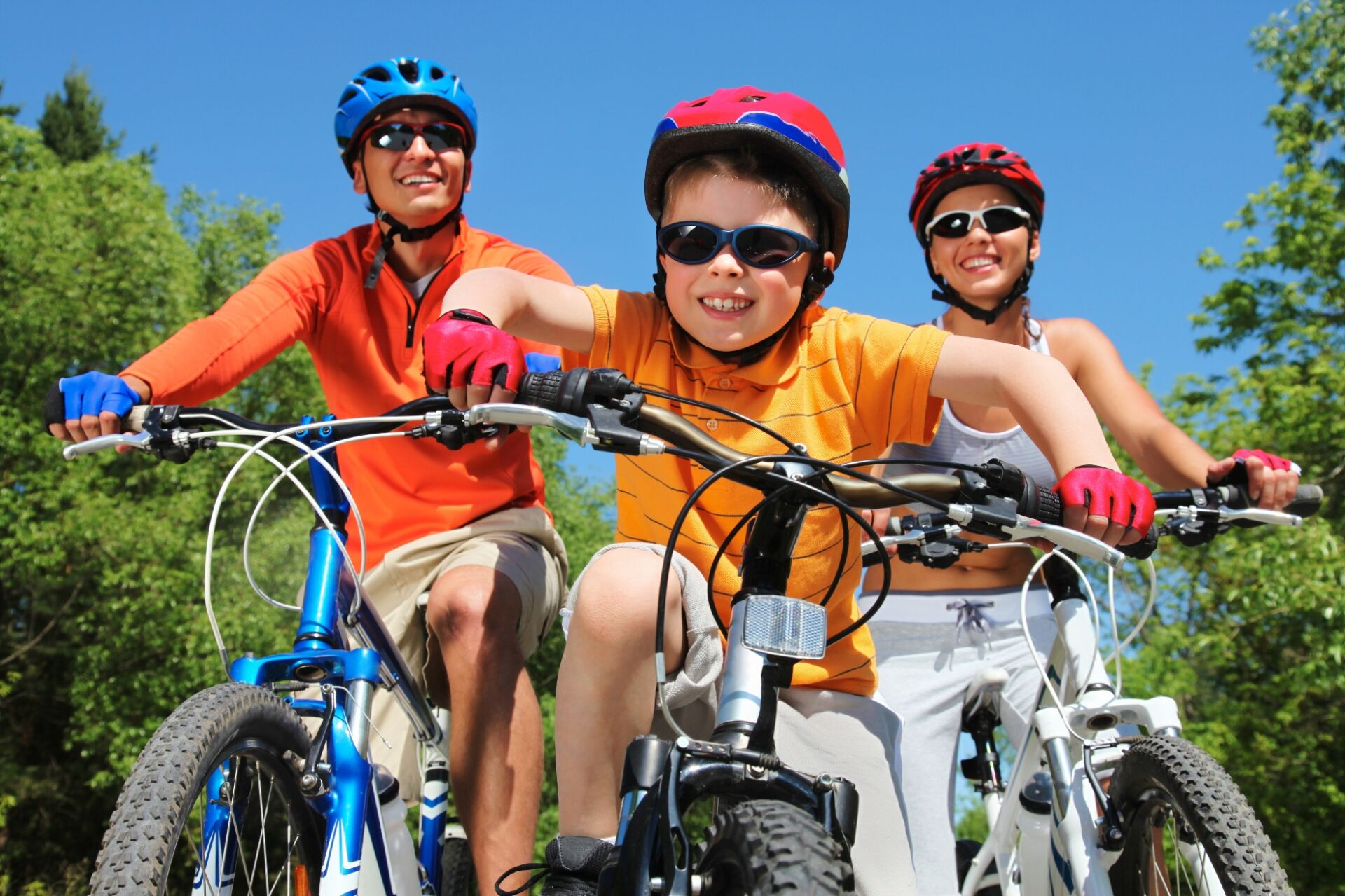 Fahrradtour in den Ferien