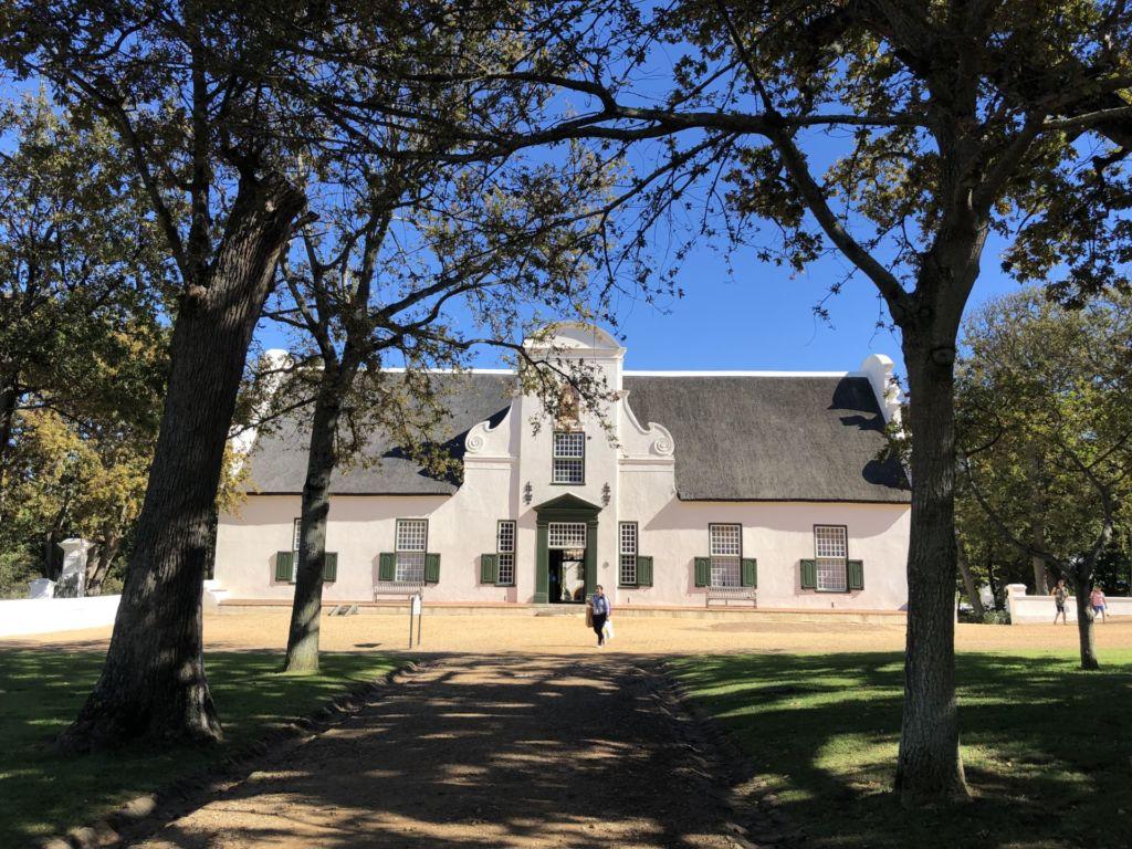 Außenansicht eines Gebäudes in Kapstadt