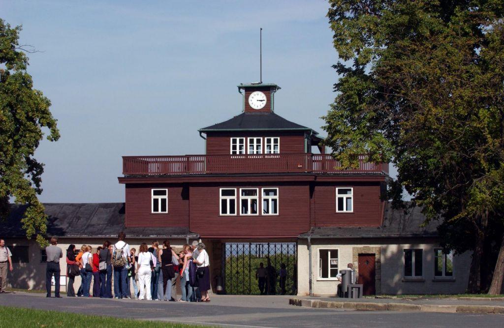 Haupteingang der Gedenkstätte