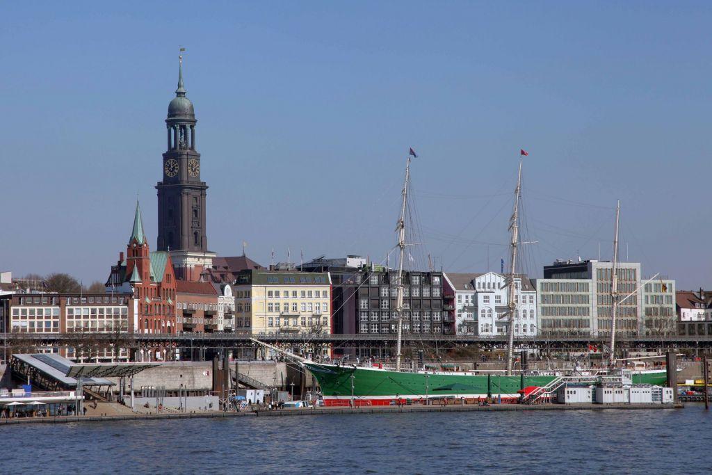 Hamburgs Wahrzeichen: Vom Michel aus haben Besucher einen guten Blick über die Stadt.