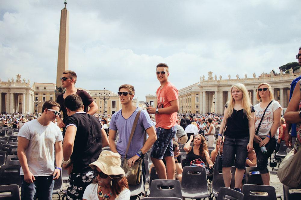 Geschichte wohin das Auge reicht: Rom ist eines der beliebtesten Klassenfahrtziele überhaupt.