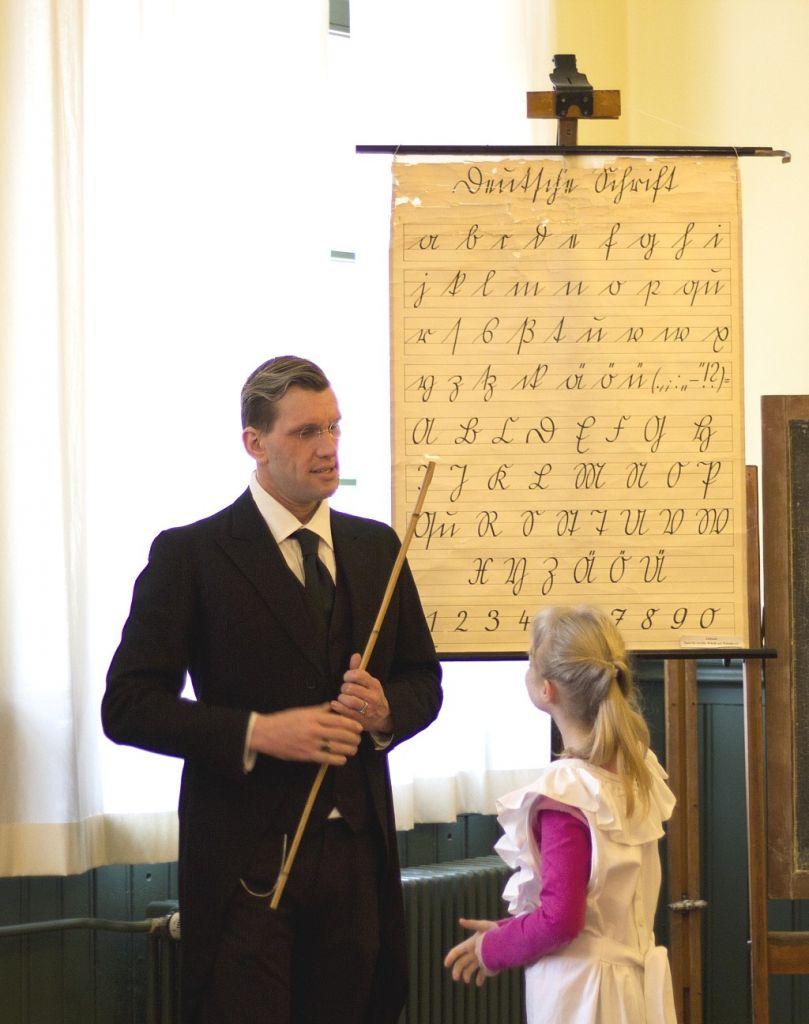 Historischer Unterricht im Kaiserzeitzimmer