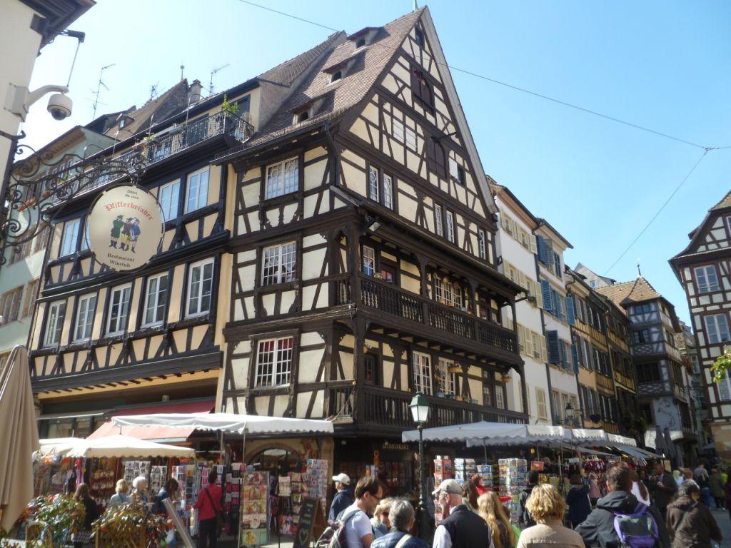 Blick auf die Innenstadt Strassburg