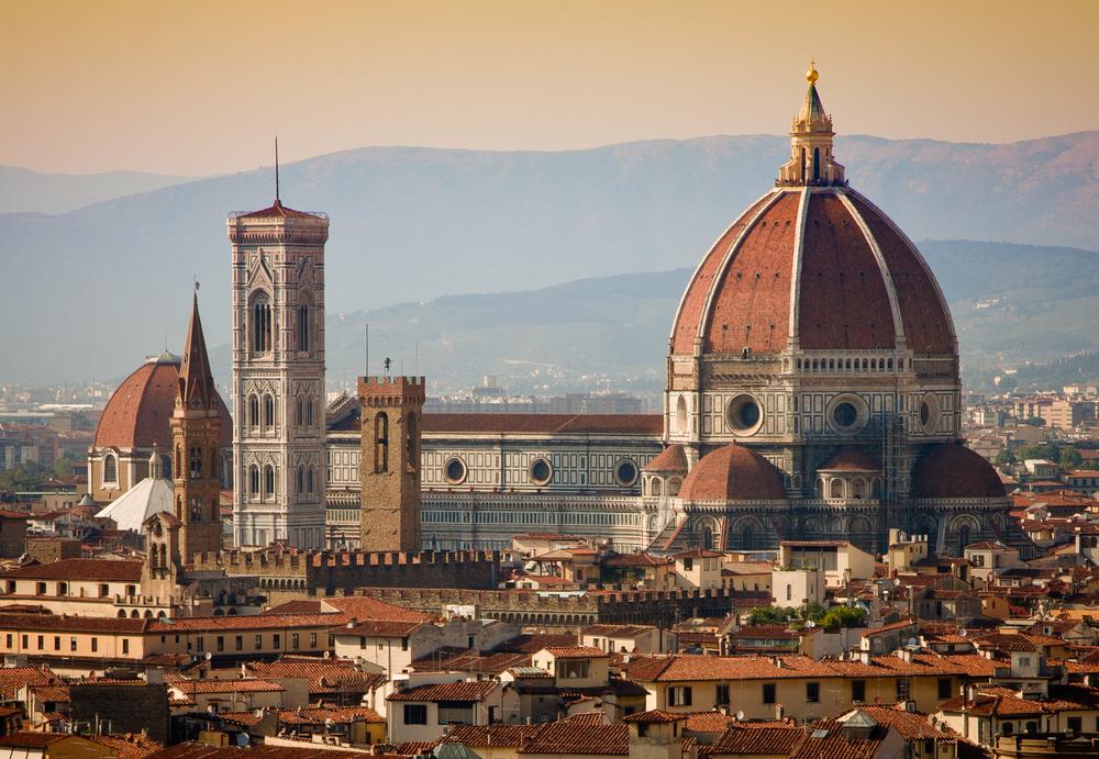 Die Kathedrale Santa Maria del Fiore ist ein beliebtes Ausfliegsziel auf einer Klassenfahrt nach Florenz