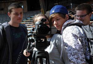 Wie bediene ich eine Kamera? – Learning by doing!