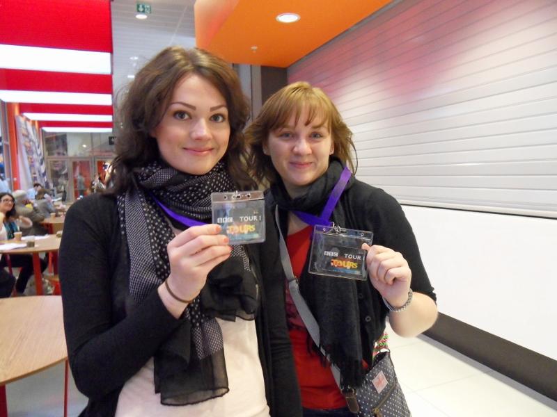 Klassenfahrt London: BBC
