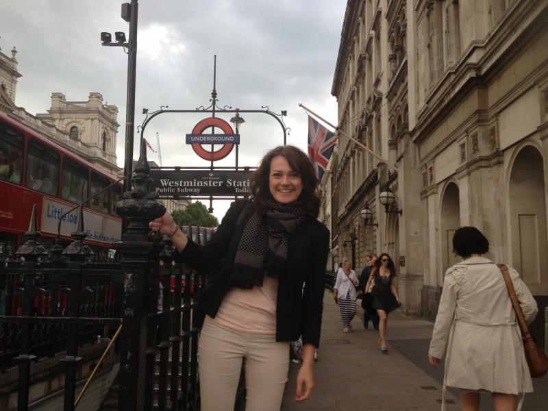Unsere Reiseexpertin Monique auf Entdeckungstour in London.