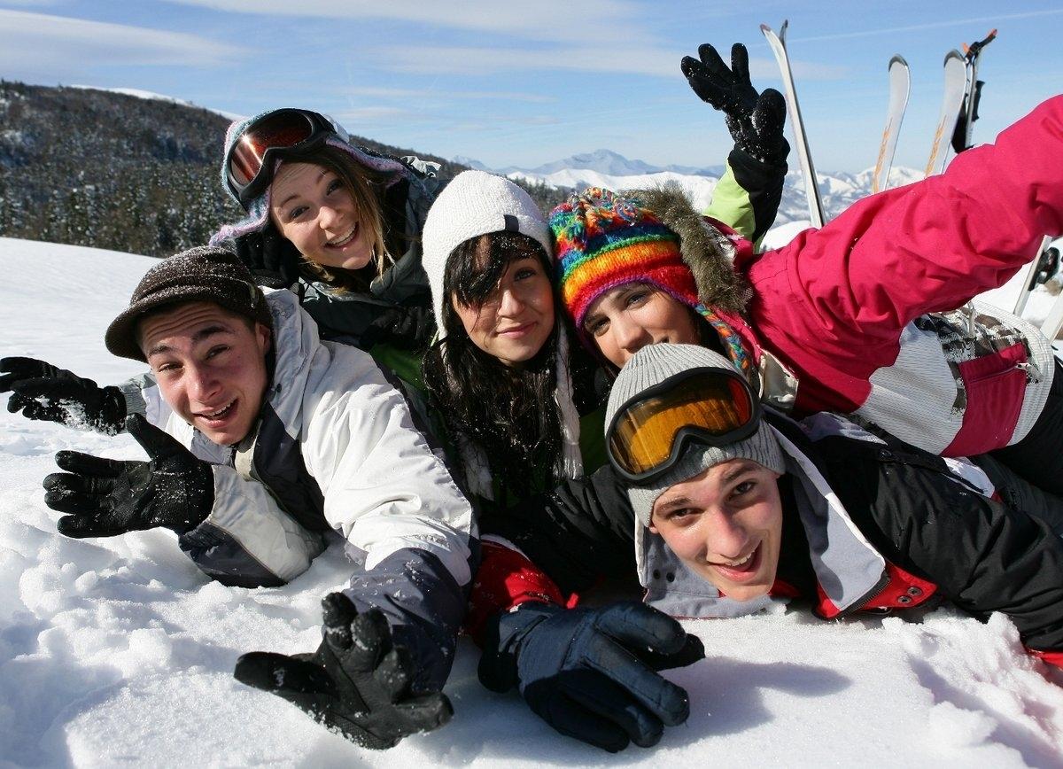 Wintersport Sport Klassenfahrt
