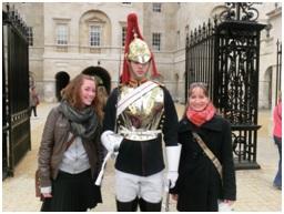 Königliche Leibwache in Whitehall