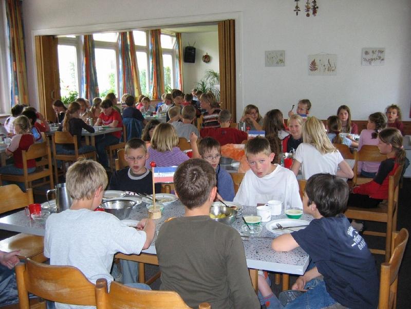 Selbstversorger auf Klassenfahrt – Mittagessen