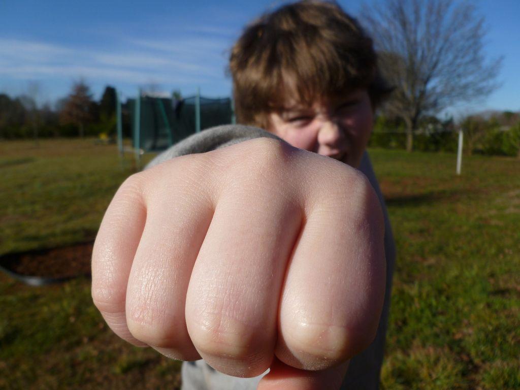 Schon Sechstklässler fallen in einigen Fällen durch aggressives Verhalten auf.