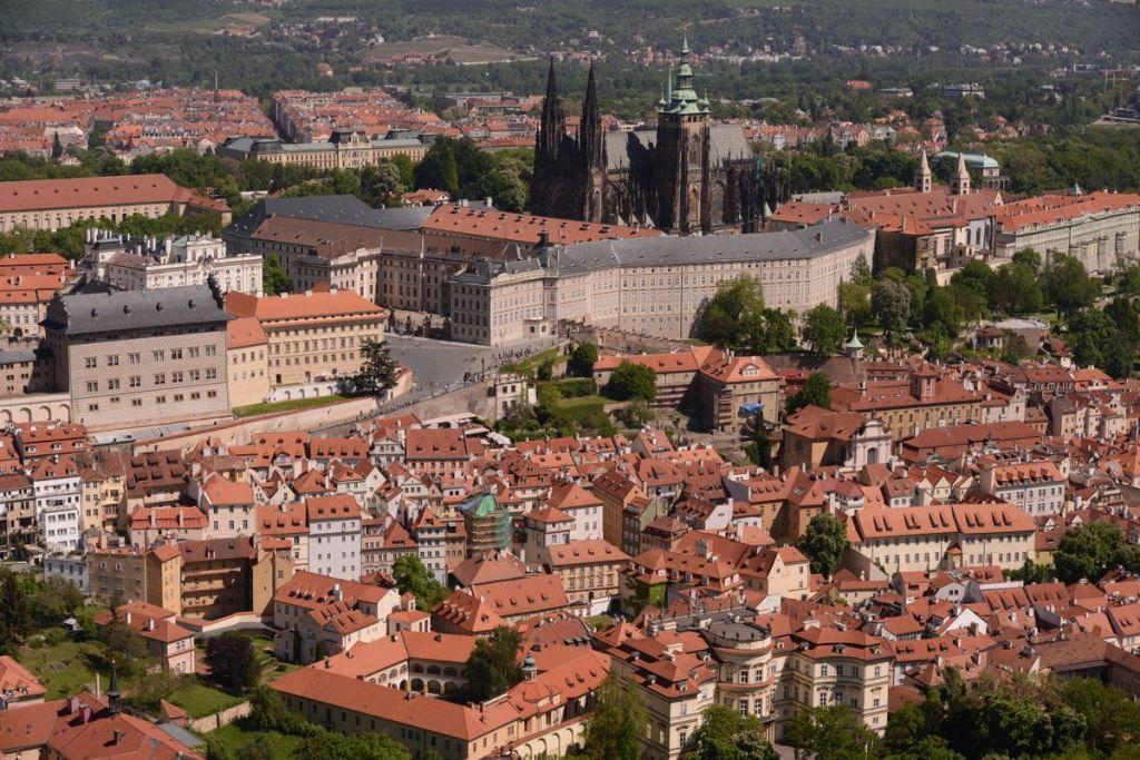 Blick auf die Prager Altstadt