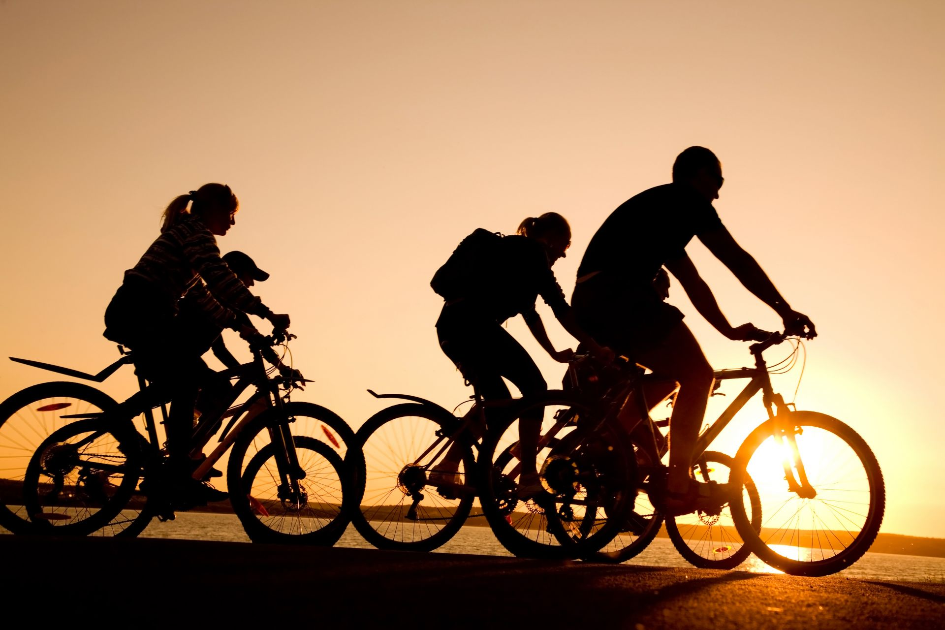 Fahrrad Sport Klassenfahrt