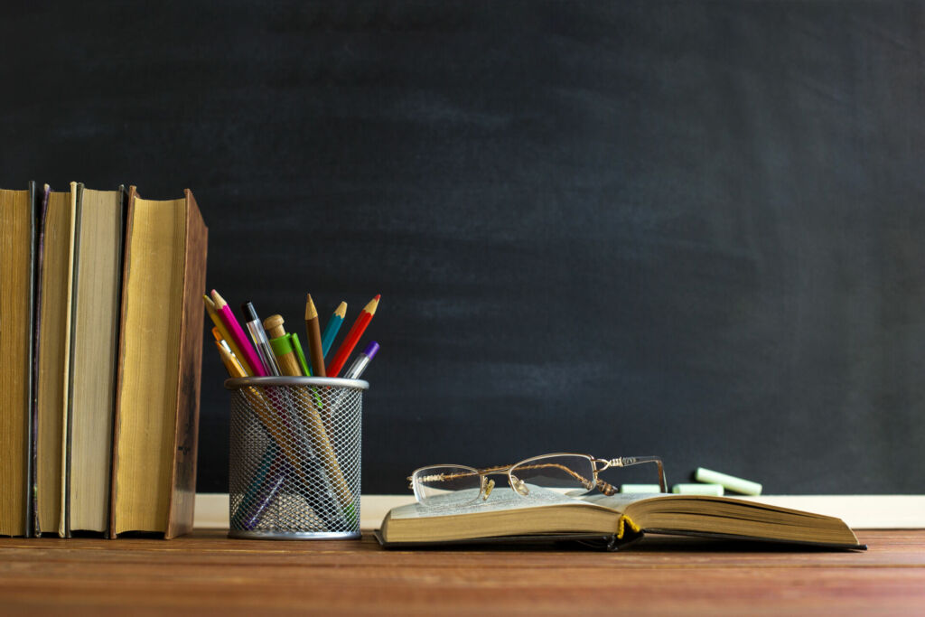 Recht zu studieren bedeutet viel lesen in Büchern