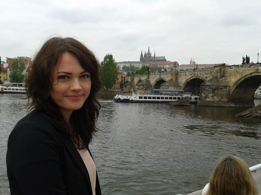 Reiseexpertin Monique in Prag