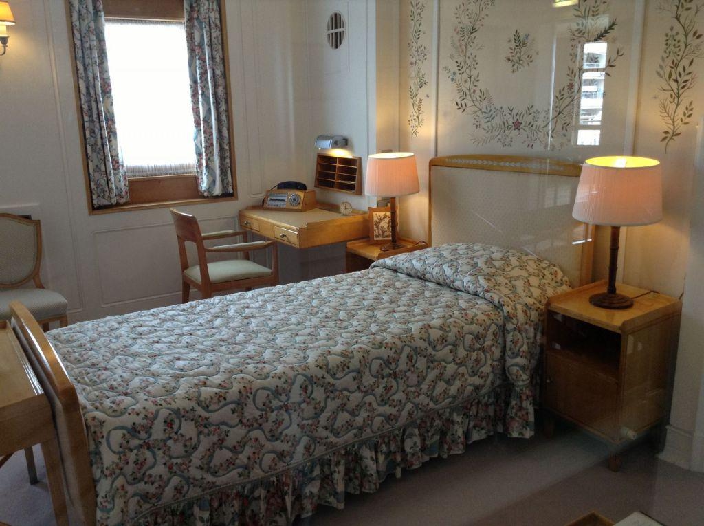 Royal Yacht Britannia Schlafzimmer Queen Edinburgh