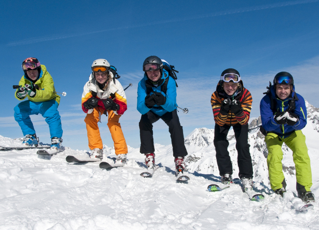 Skikurs Ausrüstung