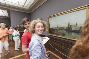 Museumsbesuche können für angehende Künstler sehr insprierend sein.