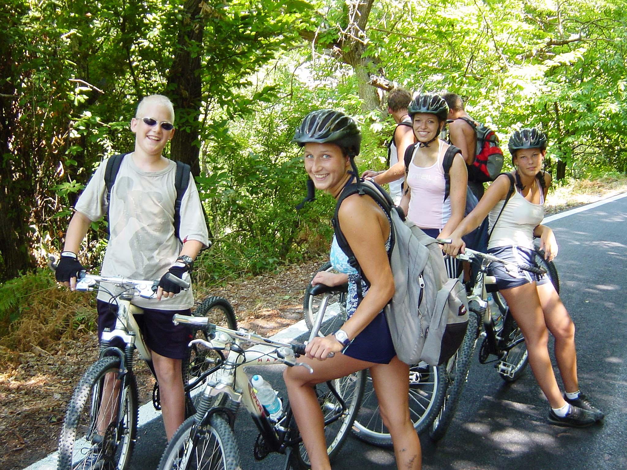 Fahrradtouren auf Klassenfahrt