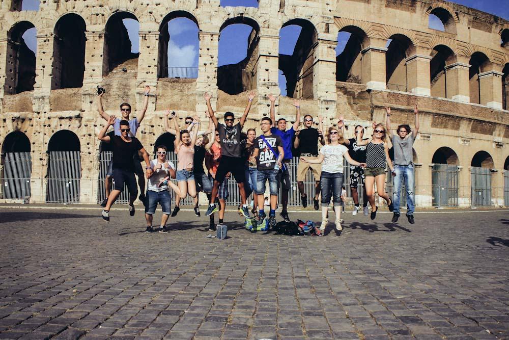 Mit HEROLÉ-Reisen auf Klasenfahrt in Rom