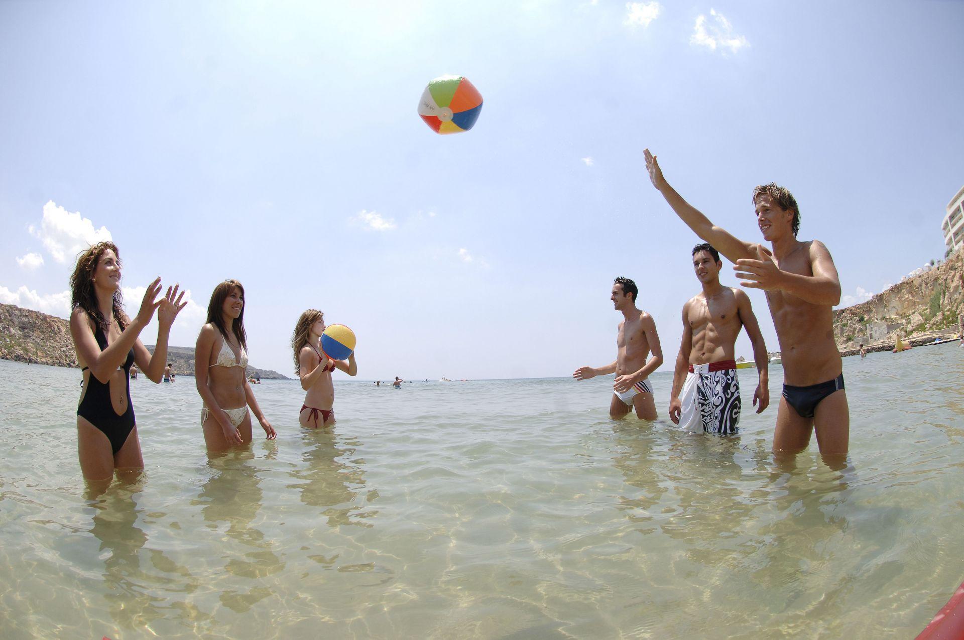 Schwimmen Meer Strand