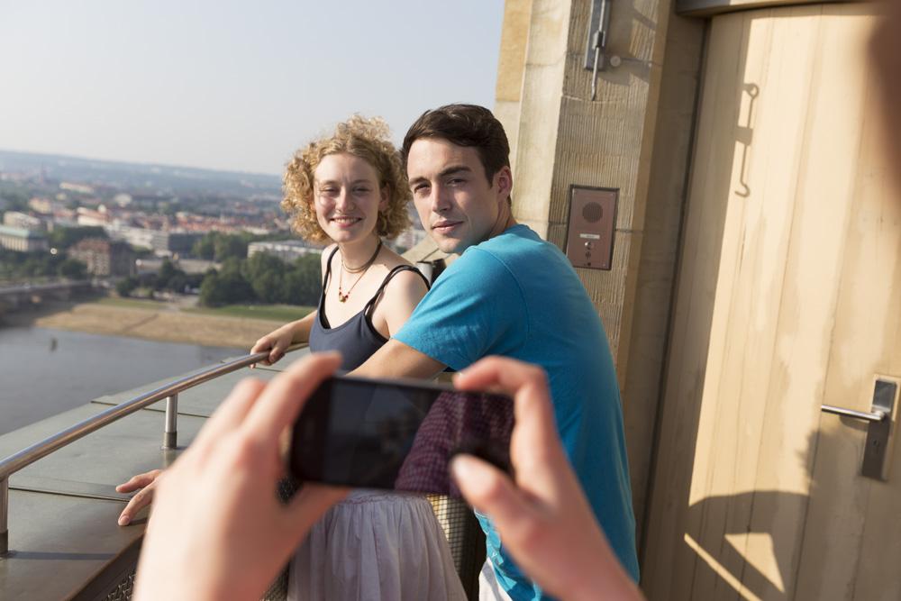 Eine Foto-App darf auf Klassenfahrt natürlich nicht fehlen!