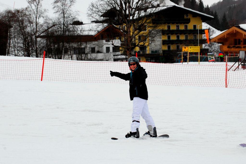 Snowboardfahren ist auch bei Klassenfahrten der absolute Renner!