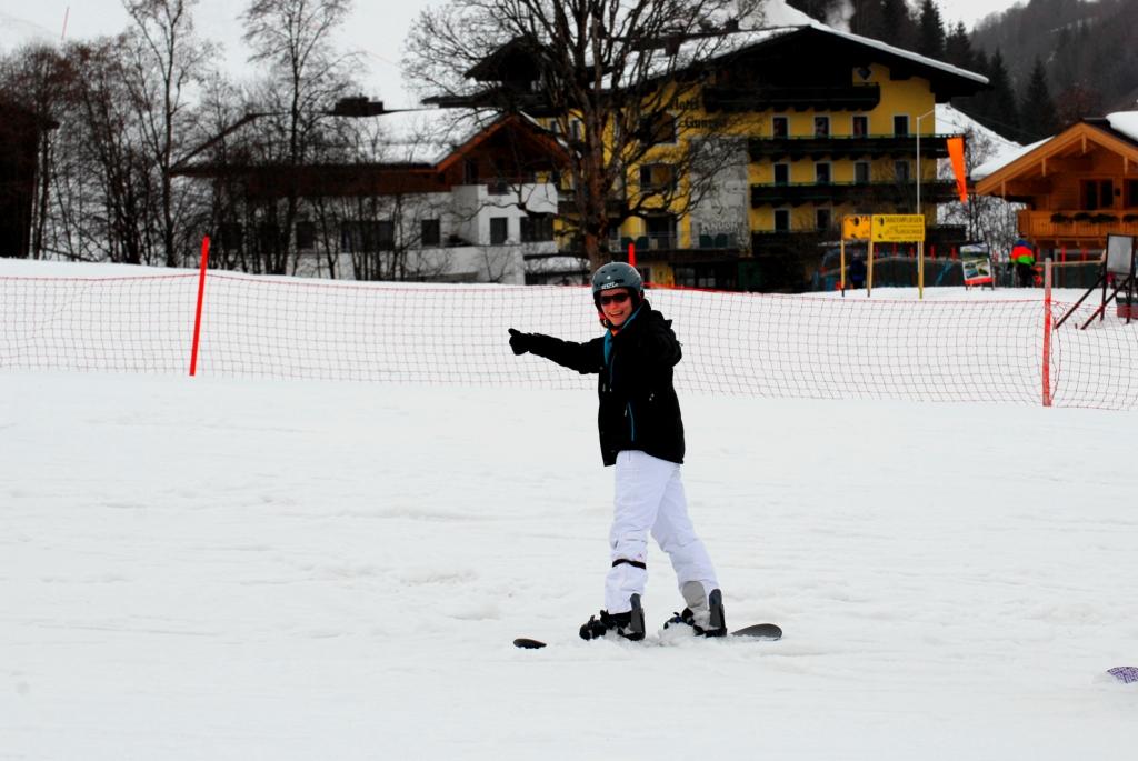 Snowboarden Sport Klassenfahrt
