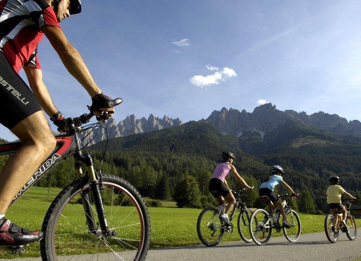 Fahrradfahren auf Klassenfahrt