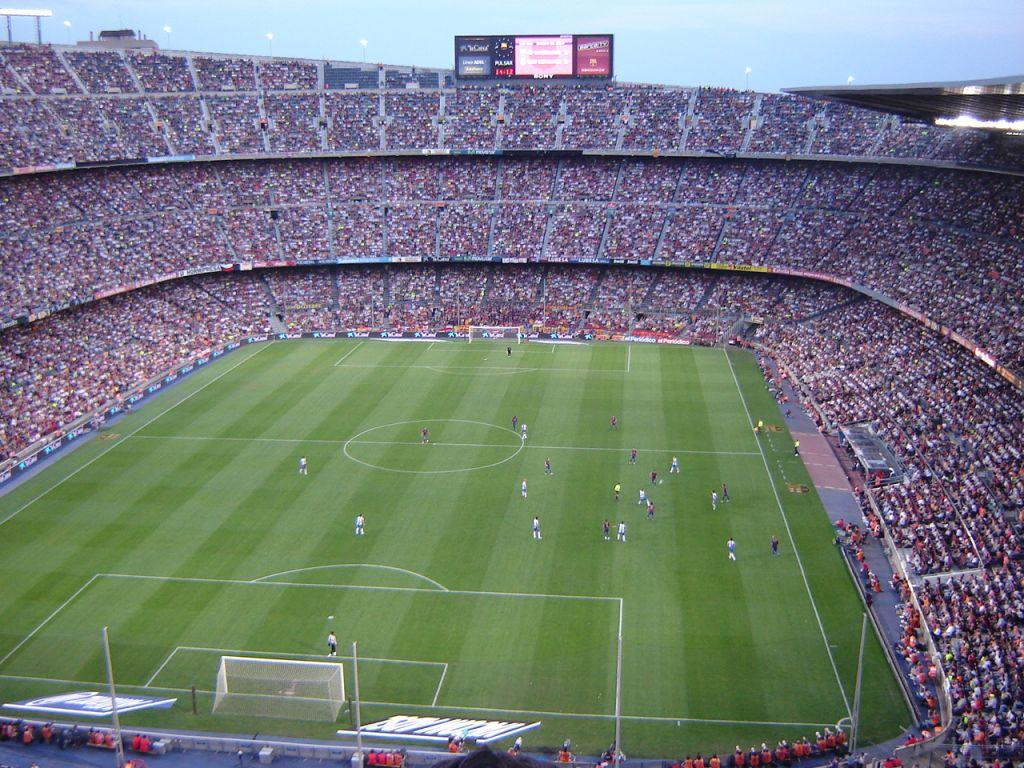 Das beeindruckende Camp Nou Stadion