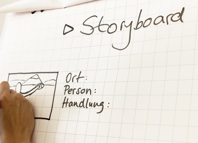 Wie erzähle ich eine Geschichte?