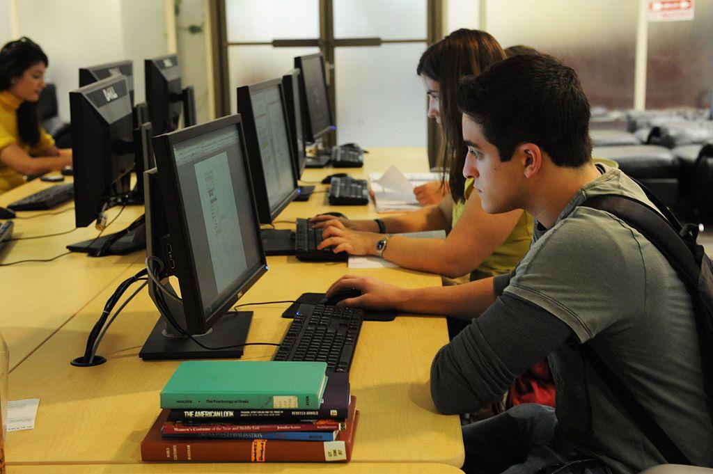Online-Datenbanken der Universitätsbliotheken sind bei der Recherche hilfreich.