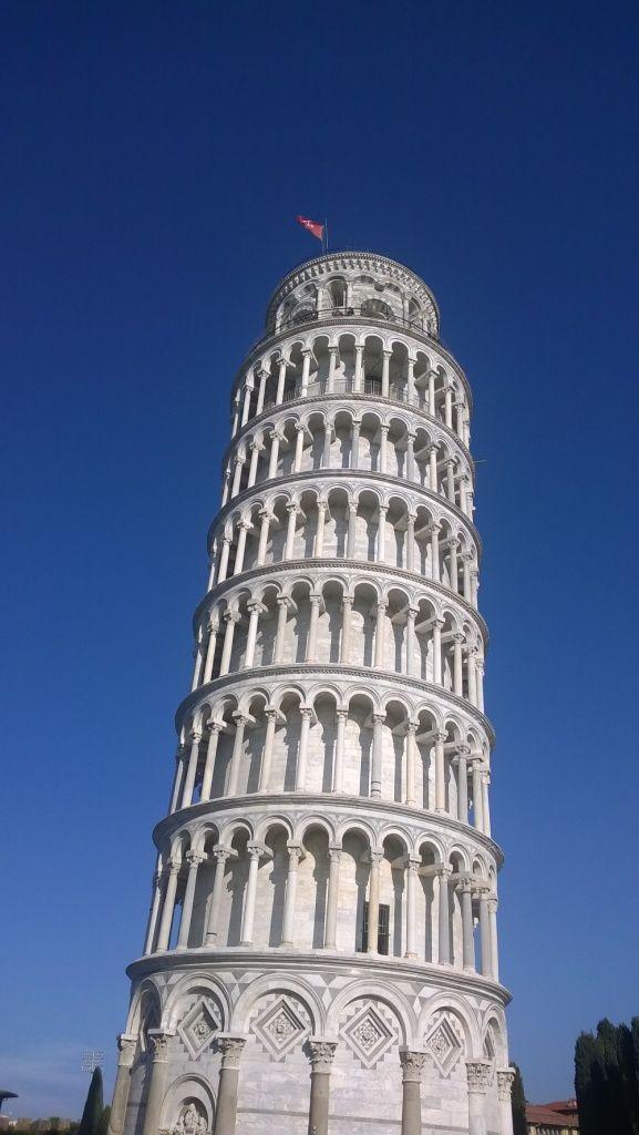 Der berühmte schiefe Turm gehört in der Toskanazum Pflichtprogramm!