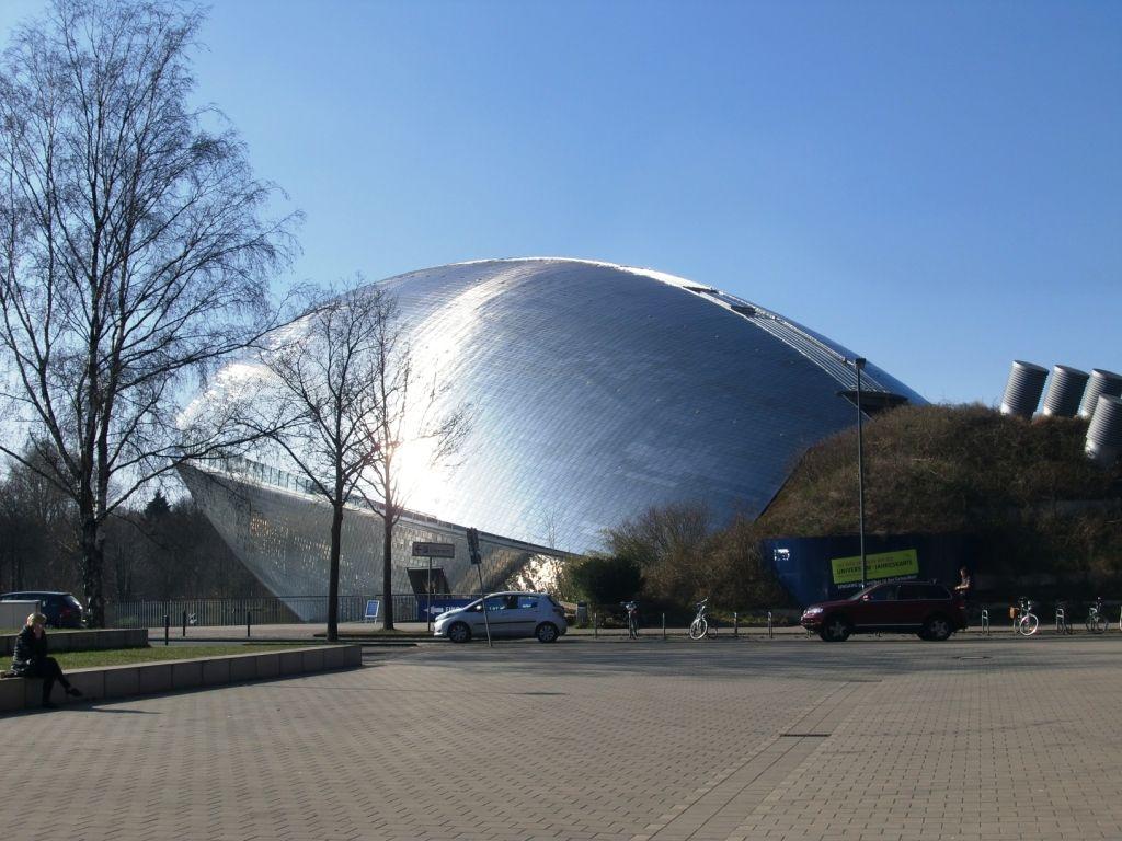 Außenansicht Universum Bremen