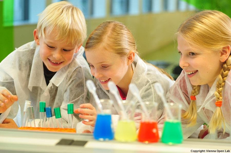 Wissenschaft zum Anfassen im Vienna Open Lab
