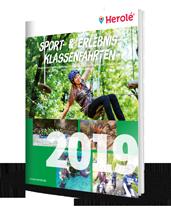 Sport & Erlebnis-Klassenfahrten Katalog