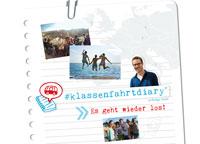 Auf Klassenfahrt mit HEROLÉ: Schreiben Sie Ihre Erfahrungen in unser #klassenfahrtdiary